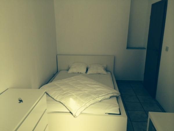 Bedroom in Dommeldange with Garden View